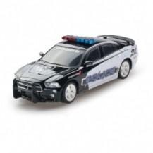 Автомодель - DODGE CHARGER POLICE 2014 (черный,1:26, свет, звук, инерц.) от GearMaxx - под заказ
