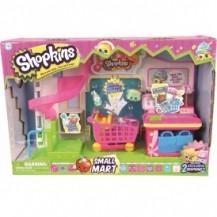 Игровой набор SHOPKINS S1 - СУПЕРМАРКЕТ (с аксессуарами, 2 эксклюзивных шопкинса) от Shopkins&Shoppies - под заказ