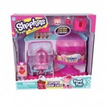 Игровой набор SHOPKINS S4 - КОРОЛЕВСКОЕ КАПКЕЙК-КАФЕ (с аксессуарами, 2 экскл. шопкинса, 2 сумочки) от Shopkins&Shoppies - под заказ