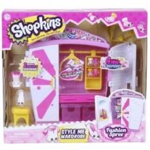 Игровой набор SHOPKINS S4 - МОДНЫЙ ГАРДЕРОБ (с аксессуарами, 2 экскл. шопкинса, 4 мини-шопкинса) от Shopkins&Shoppies - под заказ
