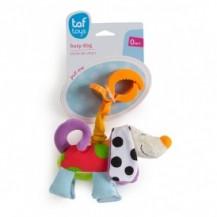 Игрушка-подвеска на прищепке - ДРОЖАЩИЙ ПЕСИК от Taf Toys - под заказ