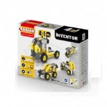 Конструктор серии INVENTOR 4 в 1 - Строительная техника от Engino - под заказ