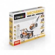 Конструктор серии STEM - Механика: колеса, оси и наклонные плоскости от Engino - под заказ