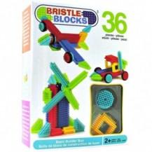 Конструктор-бристл - СТРОИТЕЛЬ (36 деталей, в коробке) от Bristle Blocks - под заказ