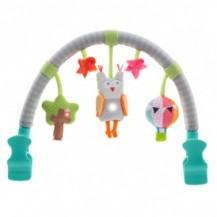 Музыкальная дуга для коляски - ЛЕСНАЯ СОВА (звук, свет) от Taf Toys - под заказ