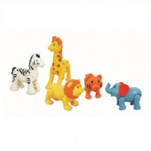 Игровой набор - ДИКИЕ ЖИВОТНЫЕ от Kiddieland - preschool - под заказ