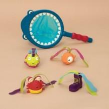 Игровой набор - НАКОРМИ АКУЛУ (для игры в ванне и бассейне) от Battat - под заказ
