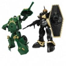 Игровой набор - РОБОТ-ТРАНСФОРМЕР (15 см), ТАНК (зеленый), ВОИН от X-bot - под заказ