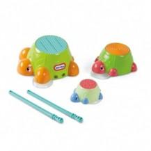 Игровой набор - ЧЕРЕПАШКИ-БАРАБАНЧИКИ (для игры в ванной) от Little Tikes - под заказ