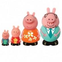 Набор игрушек-брызгунчиков Peppa – СЕМЬЯ ПЕППЫ (4 фигурки) от Peppa - под заказ