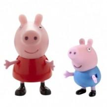 Набор фигурок Peppa - ПЕППА И ЕЕ ДРУЗЬЯ (Пеппа и Джордж) от Peppa - под заказ
