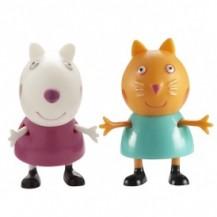 Набор фигурок Peppa - ПЕППА И ЕЕ ДРУЗЬЯ (Сюзи и Кэнди) от Peppa - под заказ