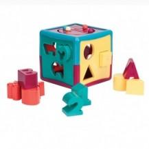 Развивающая игрушка-сортер - УМНЫЙ КУБ (12 форм) от Battat Lite - под заказ