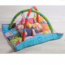 Развивающий музыкальный коврик с дугами - В КРУГУ ДРУЗЕЙ (90х90 см) от Taf Toys - под заказ
