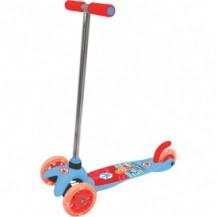 Скутер лицензионный - ФИКСИКИ (3-х колесный, 2 колеса впереди, тормоз) от Лицензионные скутеры - под заказ
