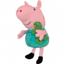 Мягкая игрушка - ДЖОРДЖ С  ИГРУШКОЙ (30 см) от Peppa - под заказ