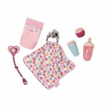 Набор аксессуаров для куклы BABY BORN - УТИНЫЕ ИСТОРИИ (бутылочки, подгузн., пустышка,игр.-одеяльце) от Zapf - под заказ