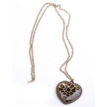 Винтажный кулон Сердце (TB327)