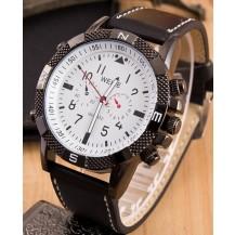 Мужские часы реплика Weide белые (секции по кругу) 042-02