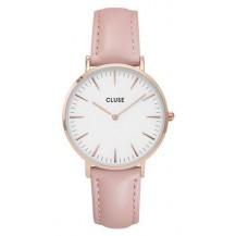 Часы женские Cluse светло-розовый ремешок