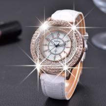Женские часы gogoey Crystal россыпь белые 51-02. Уценка