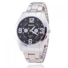 Мужские часы M&H с черным циферблатом MW11