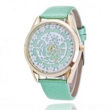 Часы женские Geneva Женева Кружевная Роза мята 068-01