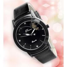 Часы женские Prema бабочка Черные 071-3