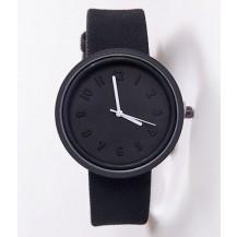 Часы наручные в японском стиле черные 073-2