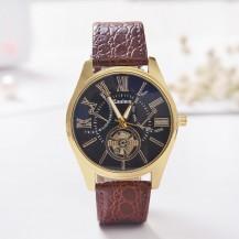 Мужские часы Kanima коричневые mw16-1