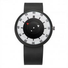 Часы Harajuku Japan силиконовый ремешок черные 066
