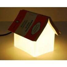 Прикроватная лампа, ночник - Книжный домик (уценка)