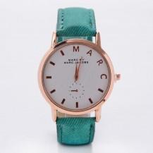 Часы Marc темно-зеленый ремешок 079-3