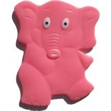 Антискользящий мини коврик для ванной. Слон
