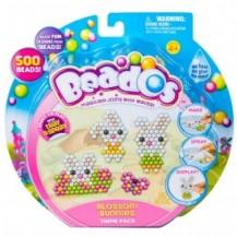 Игровой набор аквамозаики из бусинок – ВЕСЕЛЫЕ ЗАЙЧИКИ (500 бусинок, спрей, шаблоны, аксессуары) от Beados - под заказ