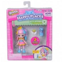 Кукла HAPPY PLACES S1 – РАДУЖНАЯ КЕЙТ (2 эксклюзивных петкинса, подставка) от Happy Places - под заказ