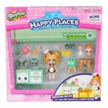 Игровой набор с куклой HAPPY PLACES S1 – КУХНЯ КОКО КУККИ (кукла, 13 петкинсов, 2 платформы) от Happy Places - под заказ