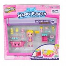 Игровой набор с куклой HAPPY PLACES S1 – ВАННАЯ КОМНАТА БАБЛИ ГАМ (кукла, 13 петкинсов, 2 платформы) от Happy Places - под заказ