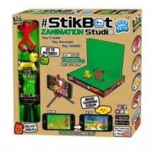 Игровой набор для анимационного творчества STIKBOT S2 PETS – СТУДИЯ Z-SCREEN (2 фиг., штатив, сцена) от Stikbot - под заказ