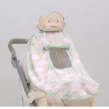 Развивающая игрушка для коляски и автокресла - ТЕНИСТЫЙ ПОЛДЕНЬ ( (UPF 50+, защита от UVA/UVB лучей) от Taf Toys - под заказ