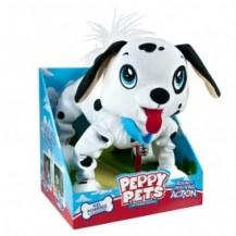 """""""Игрушка PEPPY PETS """"""""ВЕСЕЛАЯ ПРОГУЛКА"""""""" - ДАЛМАТИНЕЦ (размер 28 см, ошейник, поводок) от Peppy Pets - под заказ"""""""
