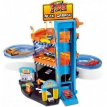 Игровой набор -  ПАРКИНГ (3 уровня, 2 машинки 1:43) от Bburago - под заказ