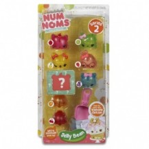 Набор ароматных игрушек NUM NOMS S2 - СУПЕР JELLY BEAN (6 намов, 2 нома, с аксессуарами) от Num Noms - под заказ