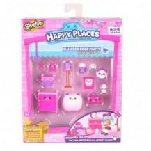 Набор фигурок HAPPY PLACES S1 – ПИЖАМНАЯ ВЕЧЕРИНКА (15 петкинсов, 2 платформы) от Happy Places - под заказ