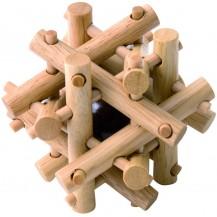 Деревянная головоломка Гнездо