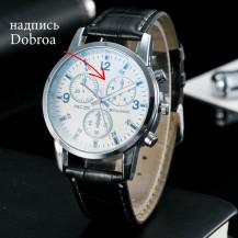 Мужские часы Geneva питон белые