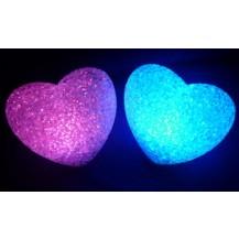 Ночник-хамелеон Сердце кристалл (большое)