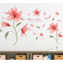 Интерьерная наклейка на стену Цветы XL7126