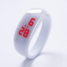 Часы в виде браслета LED Белые 091-2
