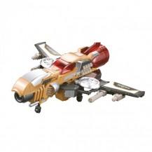 Баттлбот - трансформер – САМОЛЕТ (23 cm, бластер, мишень, 20 стрел) от Dinobots - под заказ